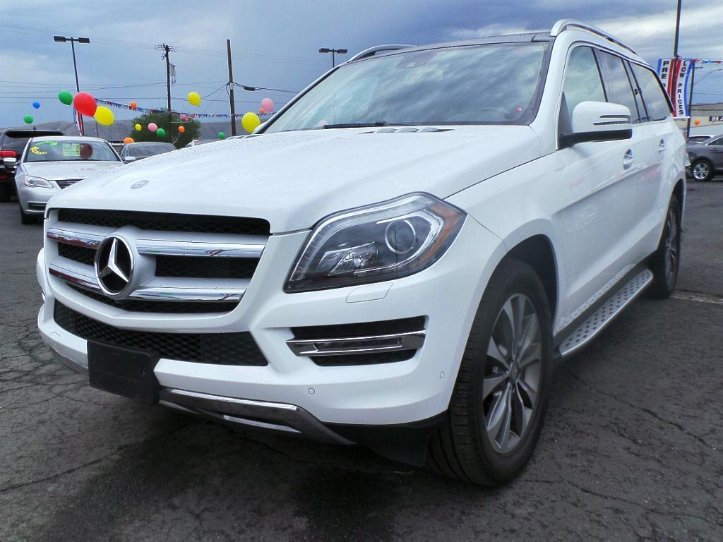pre owned 2014 mercedes benz gl class gl450 4matic 4 door wagon in union gap 2560118t trucks. Black Bedroom Furniture Sets. Home Design Ideas